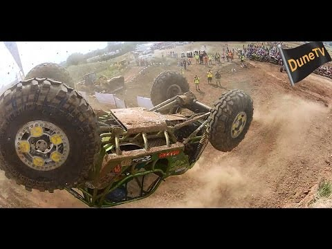 First Ever Rock Bouncer Back Flip at the  Unlimited Off-Road Expo 2014