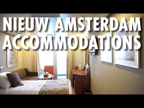 Nieuw Amsterdam Review & Tour: Accommodations ~ Holland America Line ~ Cruise Ship Review & Tour