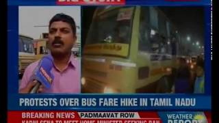 People cast their vote against bus fare hike in Coimbatore demanding a rollback of the decision - NEWSXLIVE