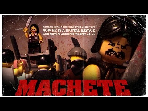El trailer de Machete en Lego