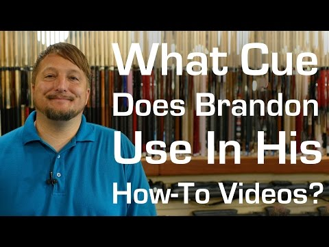 What Cue Does Brandon Use In His How-To Videos?