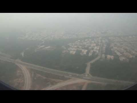 PIA 777 AP-BHX landing at Benazir Bhutto International Airport(ISB/OPRN), Islamabad HD