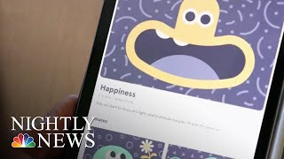 Americans Are Now Reaching For Their Phones For A Quick Bit Of Zen | NBC Nightly News - NBCNEWS