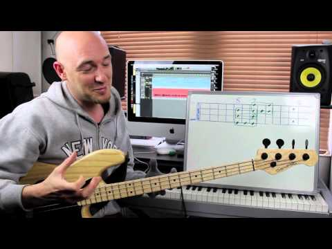 How to get those 'SEXY' notes - Using Simple Shapes! Bass Lesson with Scott Devine (L#71)