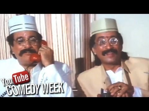 Kader Khan and Shakti Kapoor - Baap Numbri Beta Dus Numbri Scene