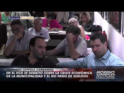 En el HCD se debatió sobre la crisis económica de la municipalidad y el no pago de sueldos