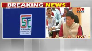 29th GST council Meeting Decisions | Press Conference by  Piyush Goyal | New Delhi |CVR NEWS - CVRNEWSOFFICIAL