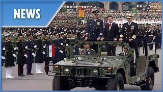Mexico Independence Day: military parade - THESUNNEWSPAPER