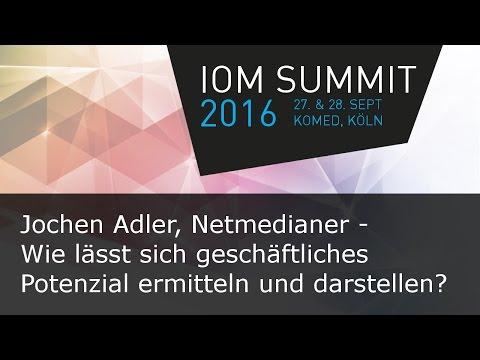 #ioms16 Jochen Adler, Netmedianer GmbH