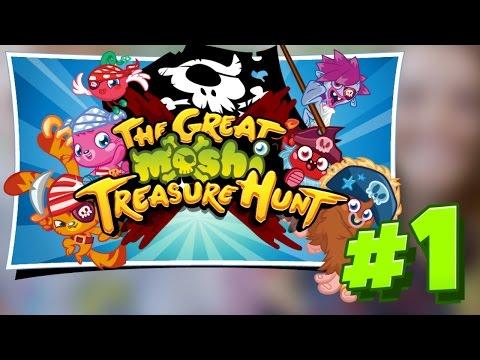Moshi Monsters YouTube Treasure Hunt #1!