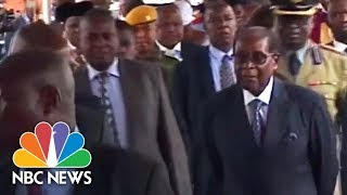 City Streets Calm As President Mugabe Appears In Public For First Time Since Coup | NBC News - NBCNEWS