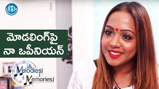 Bhargavi Pillai About Her Opinion On Modelling || Melodies And Memories - IDREAMMOVIES