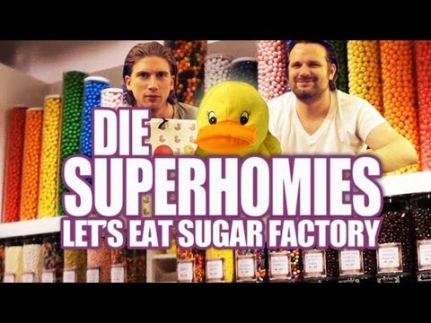 Die Superhomies in den USA - Let's Eat Sugar Factory (mit Gronkh und Sarazar)