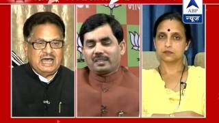 ABP LIVE debate l Will BJP form govt in Maharashtra without Sena's support? - ABPNEWSTV