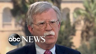 Bolton: '4 countries' could interfere in midterm elections - ABCNEWS