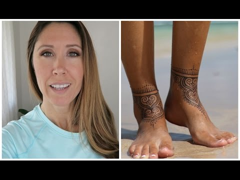 Maui Vlog | Getting A Jagua Tattoo | Denim Art