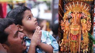 Ganesh Khairatabad First Day Divyadarshanam ll Vinayakudu 2018 Hyderabad Tallest Statue - IGTELUGU