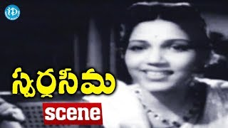Swarga Seema Movie Scenes - Sujatha Devi Goes To Murthy House || Chittor V. Nagaiah - IDREAMMOVIES