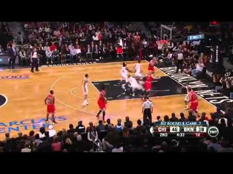 Chicago Bulls Vs Brooklyn Nets - NBA Playoffs 2013 Game 7 - Full Highlights 5/4/13