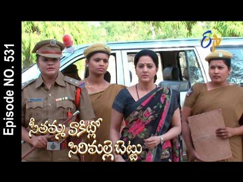 Seethamma Vakitlo Sirimalle Chettu | 17th May 2017 | Full Episode No 531 | ETV Telugu | cinevedika.com