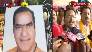 NTR Name Creats Trouble in Telangana : TV5 News - TV5NEWSCHANNEL