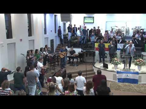 Ministério de Louvor Restauração - Ousado amor - 04 04 2019