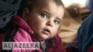 Syria's displacement crisis: 'We had to hide in caves' - ALJAZEERAENGLISH