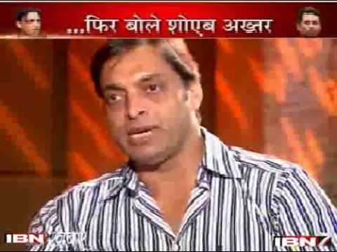Controversially Yours - Shoaib Akhtar Interview - IBN7 News