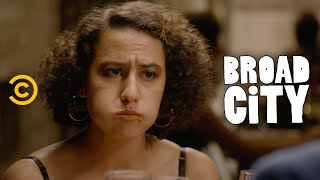 Ilana and Lincoln's Anniversary Goes South Fast - Broad City - COMEDYCENTRAL