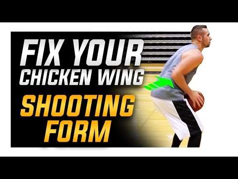 How to Fix Your Shooting Elbow: Basketball Shooting Form (HD)