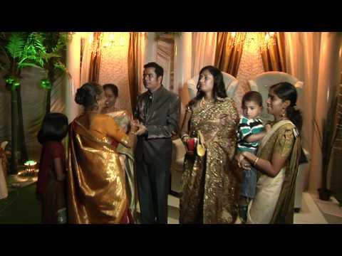 Malaysian Indian wedding reception of OGVJ & Revathy THR