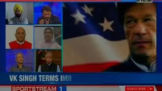 Imran Khan is a Pakistan Army's puppet, says VK Singh | Nation@9 - NEWSXLIVE