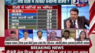 Tonight With Deepak Chaurasia: BJP may decline offer to form government in Delhi - ITVNEWSINDIA