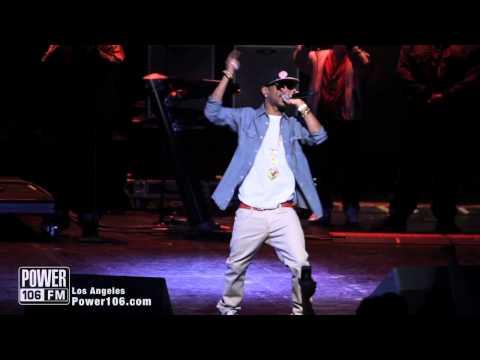 Wiz Khalifa & Big Sean Perform (Gang Bang) at Power106 Cali Christmas 2011