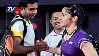 Saina Nehwal Good Bye To Gopichand | Train with Vimal Kumar : TV5 News - TV5NEWSCHANNEL
