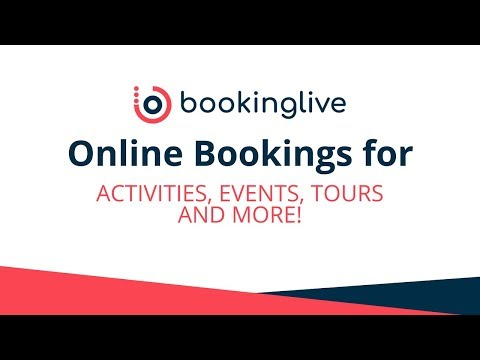 Online Booking Software: Sell Activities, Events, Tours and more