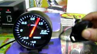 mqdefault fake apexi el2 boost meter with electronic sensor youtube apexi boost gauge wiring diagram at bakdesigns.co