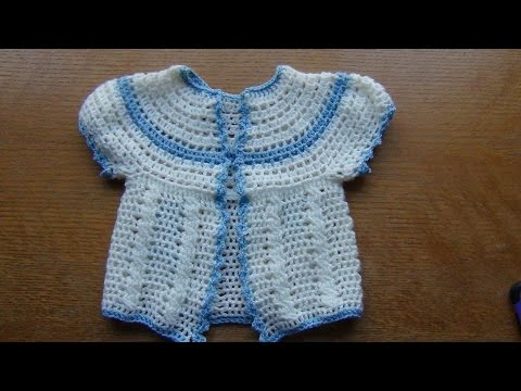 How to Crochet Cables for Baby Jacket