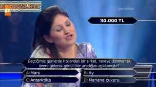 Kim Milyoner Olmak Ister 238. bölüm İclal Tekin 17.06.2013