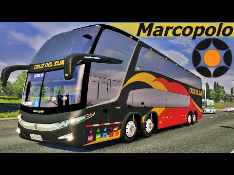 Ônibus Dois Andares - Euro Truck Simulator 2