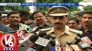 Theft at AP Assembly - Policemen arrested the Convict - V6NEWSTELUGU