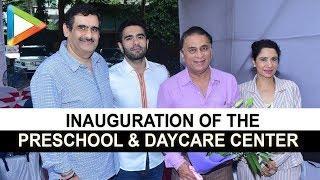 CHECK OUT: Sunil Gavaskar at the inauguration of Pre school & Day Care Center Joy - HUNGAMA