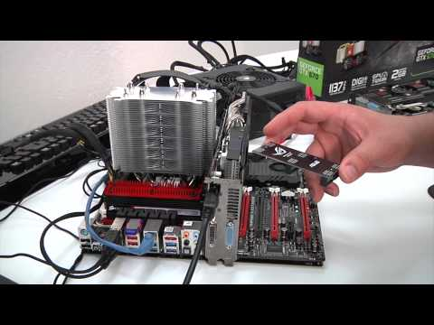 GTX 670 Direct CU II 3-Way SLI Performance Video