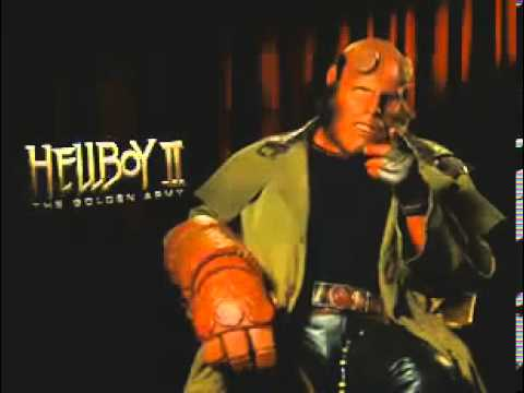 Hellboy intros Hellboy II trailer at apple.com