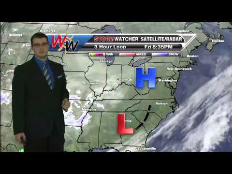 Friday, February 27, 2015 Evening Forecast