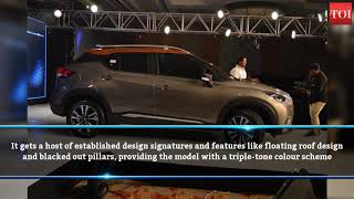 Creta-rival new Nissan Kicks in pictures - TIMESOFINDIACHANNEL