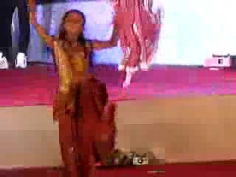 radha gadhavi dance in her school annual function 2014