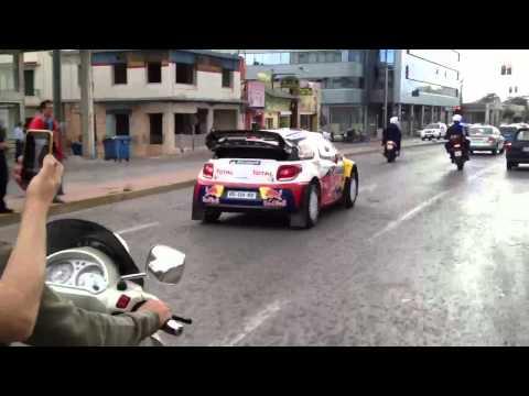 WRC Acropolis Rally 2012 - Σουζα ΔΙ.ΑΣ- Sebastien Loeb - THE RALLY OF GODS