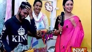 Divyanka Tripathi celebrates Eid 2018 - INDIATV
