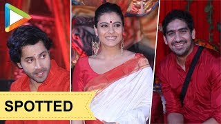 MUST WATCH: Many Celebs attend Maha Navmi Puja in North Bombay Sarbojanin Durga Puja | Part 2 - HUNGAMA